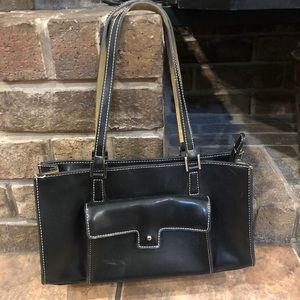 Mondani Black Structured purse